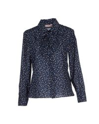 See By Chloé | Blue Shirt | Lyst