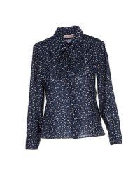 See By Chloé - Blue Shirt - Lyst