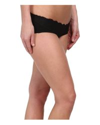 Spanx - Black Lace Waist Hipster - Lyst