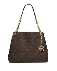 MICHAEL Michael Kors | Brown Patterned Tote Bag | Lyst