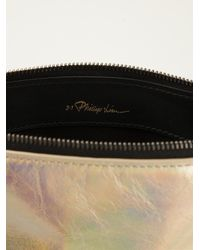 3.1 Phillip Lim - Metallic 31 Seconds Clutch - Lyst
