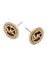 Michael Kors | Metallic Mkj2943710 Ladies Earrings | Lyst