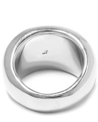 Jennifer Fisher - Metallic Silver-plated Cylinder Ring - Lyst