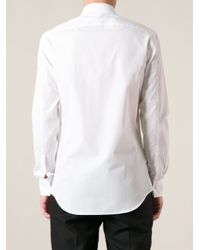 Neil Barrett - White Classic Shirt for Men - Lyst