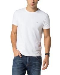 Tommy Hilfiger - White Flag T-shirt for Men - Lyst