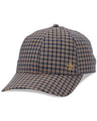 Original Penguin - Brown Tyler Baseball Hat for Men - Lyst