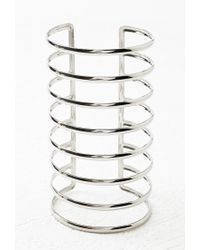 Forever 21 | Metallic Caged Arm Cuff | Lyst