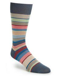 Paul Smith - Gray Stripe Socks for Men - Lyst