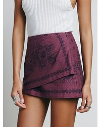 Free People | Purple Day Trip Mini | Lyst