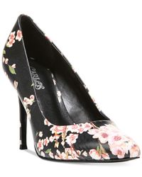 Carlos By Carlos Santana | Black Posy Pumps | Lyst