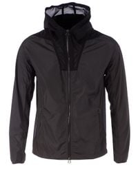 Lanvin - Gray Bicolour Windbreaker for Men - Lyst