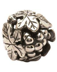 Trollbeads | Metallic 'wine Harvest' Silver Bead | Lyst