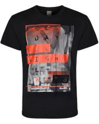 Bench | Black All Ways Graphic Crew Neck Regular Fit T-shirt for Men | Lyst