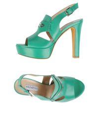 Fratelli Rossetti - Green Sandals - Lyst
