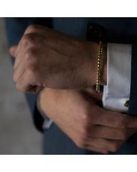 Alice Made This | Metallic Oscar Brass Bracelet for Men | Lyst
