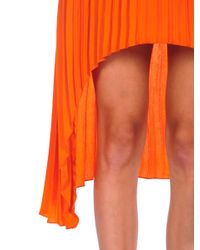 BB Dakota | Orange June Hi Low Dress | Lyst