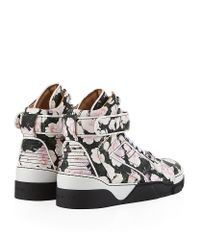 Givenchy - Multicolor Floral Hightop Sneaker for Men - Lyst