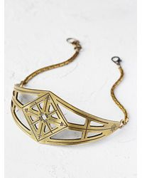 Free People - Metallic Alice Choker - Lyst
