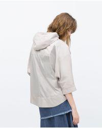 Zara | Gray Water Resistant Jacket | Lyst