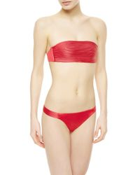 La Perla | Red Brazilian Bikini Briefs | Lyst