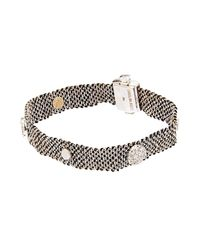 Carolina Bucci | Black Diamond Silk And White-Gold Bracelet | Lyst