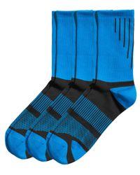 H&M | Blue 3-Pack Sports Socks for Men | Lyst