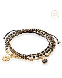 Astley Clarke - Metallic Lucky Things Bracelet Stack - Lyst