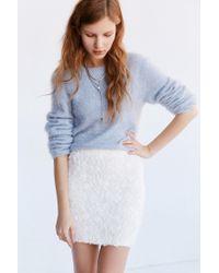 Kimchi Blue - White Rosalie Mini Skirt - Lyst