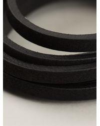 DIESEL - Black Acavi Bracelet for Men - Lyst