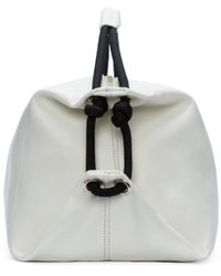 MM6 by Maison Martin Margiela | White & Black Rope Duffle Bag | Lyst