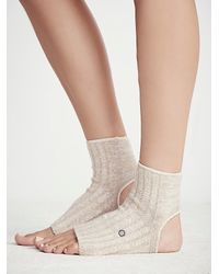 Free People | Natural Dharma Yoga Sock | Lyst