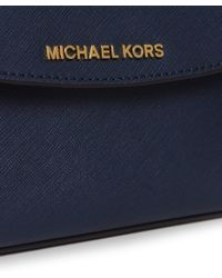 MICHAEL Michael Kors - Blue Ava Small Crossbody Bag - Lyst