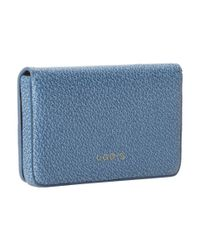 Lodis - Blue Stephanie Under Lock & Key Mini Card Case - Lyst