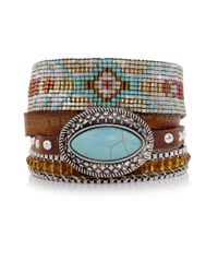 Hipanema | Blue Texas Bracelet | Lyst