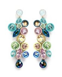 J.Crew | Multicolor Mixed Brûlée Statement Earrings | Lyst