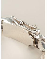 King Baby Studio | Gray Skull Link Bracelet | Lyst