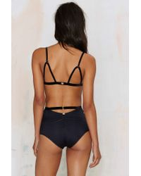 For Love & Lemons | Black Anabella Lace Panties | Lyst