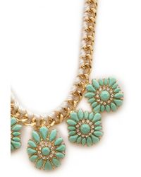 Forever 21 - Green Remixed Heirloom Necklace - Lyst