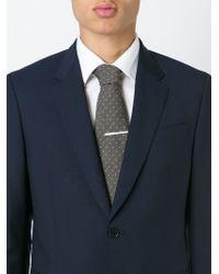 Brioni - Brown Woven Spot Tie for Men - Lyst