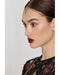 Nasty Gal | Metallic Keep A Jewel Head Piece | Lyst