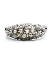 Alexis Bittar - Metallic Cluster Band Hinged Bracelet - Lyst