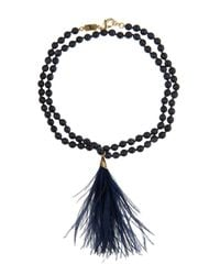 Rosantica By Michela Panero | Blue Himalaya Quartz Necklace | Lyst