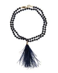 Rosantica By Michela Panero - Blue Himalaya Quartz Necklace - Lyst