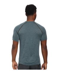 Asics | Blue Seamless Short Sleeve for Men | Lyst