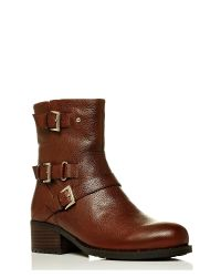 Moda In Pelle | Brown Fontana Low Casual Short Boots | Lyst