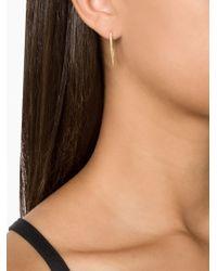 Ileana Makri | Metallic Pavé Set Pendant Earrings | Lyst
