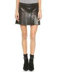 Love Leather | The Brit Skirt - Black | Lyst