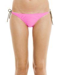 Heidi Klein - Pink Rope Tie Bikini Bottoms - Lyst
