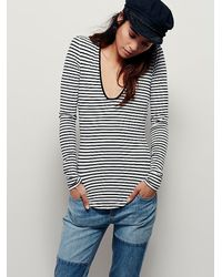 Free People - Black We The Free Womens Be My Baby Top - Lyst