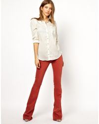 M.i.h Jeans - Red The Skinny Marrakesh in Clay - Lyst